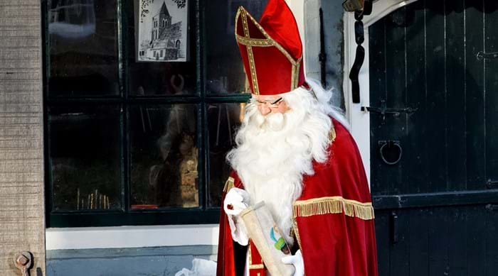 Sinterklaas at a Dutch celebration