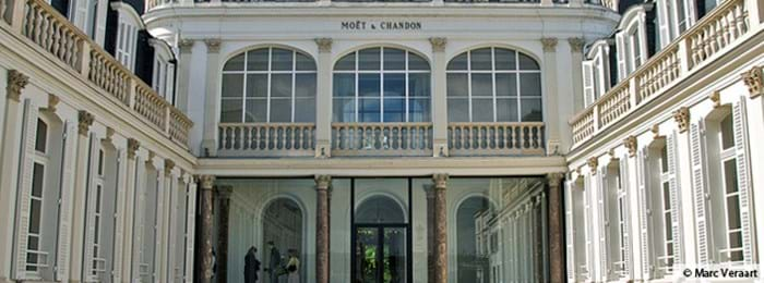 Take a tour of the beautiful Moët & Chandon vineyard