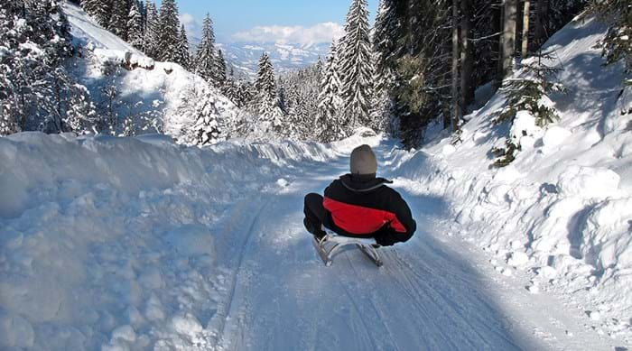 Austria has some great places to go sledding.