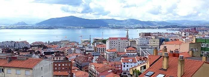 Santander sits alongside the ocean and is a great place to visit