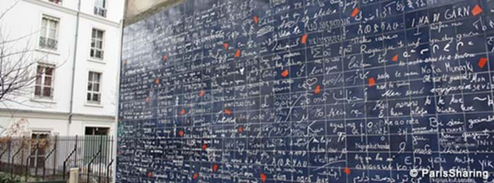 I Love You wall in Paris