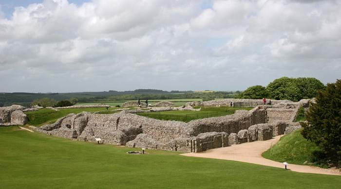 Old Sarum, un site hors du temps.