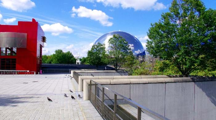 The Cité des Sciences et de l'Industrie is an impressive place to visit, even if you're not seeing an exhibition.